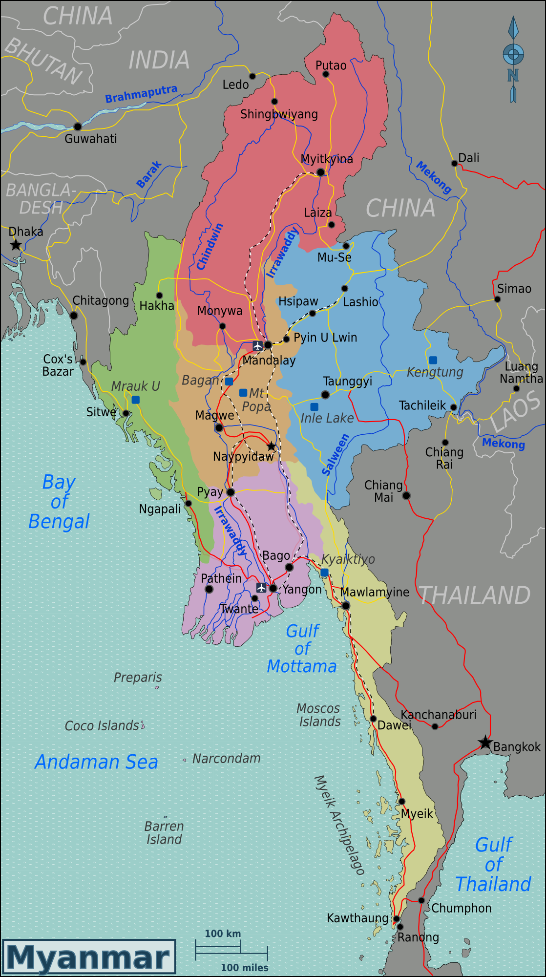 Excellent question asian cooperation in myanmar regional