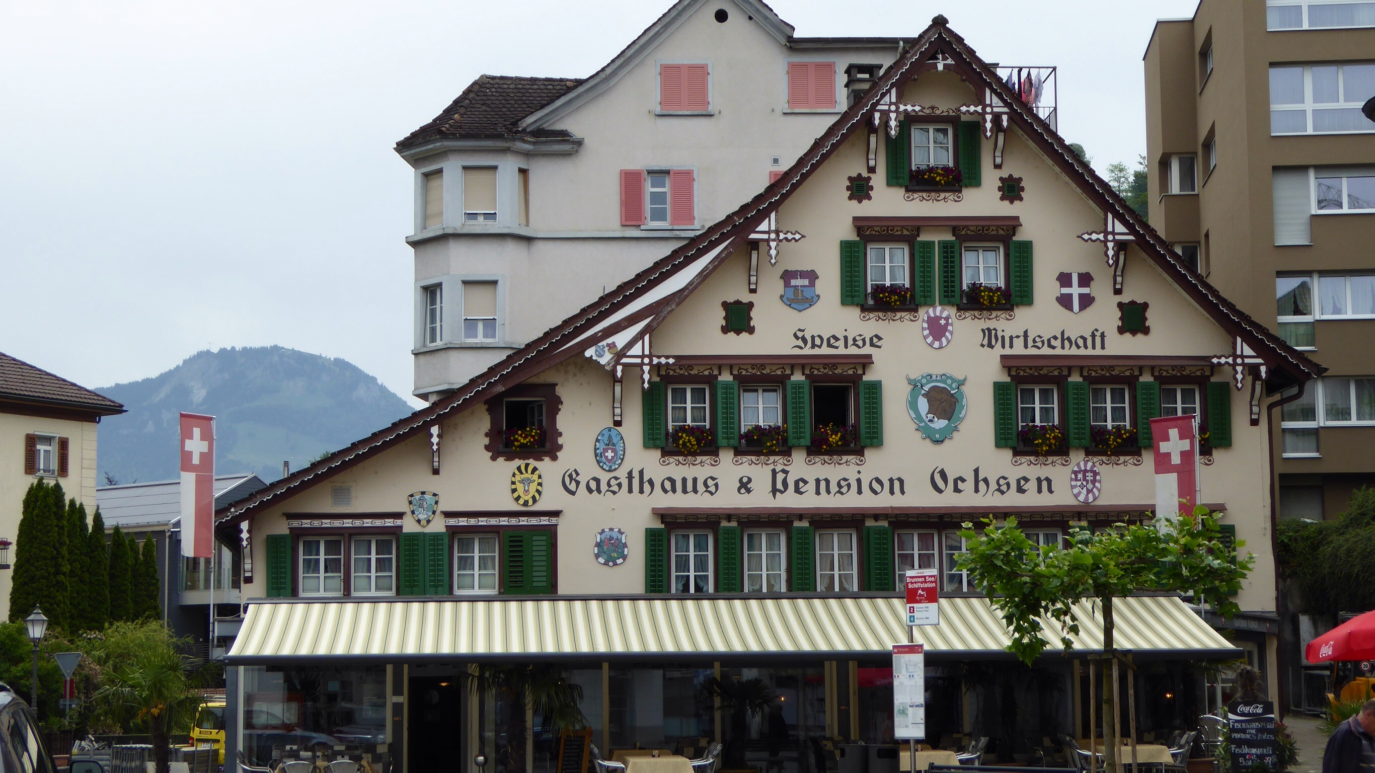 JT & DY in Europe – to Brunnen, Switzerland | I See You See