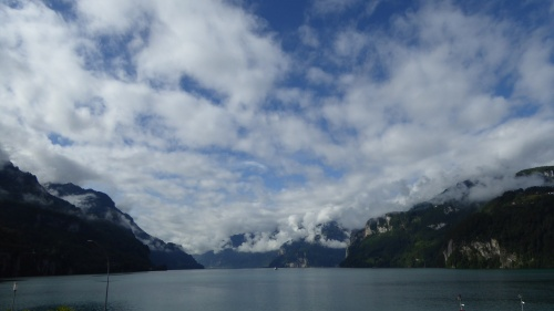 A final look at the view in Brunnen.