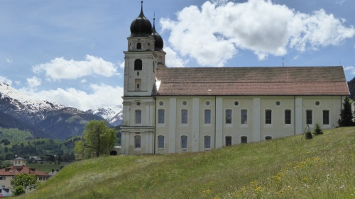 Disentis abbey or monastery