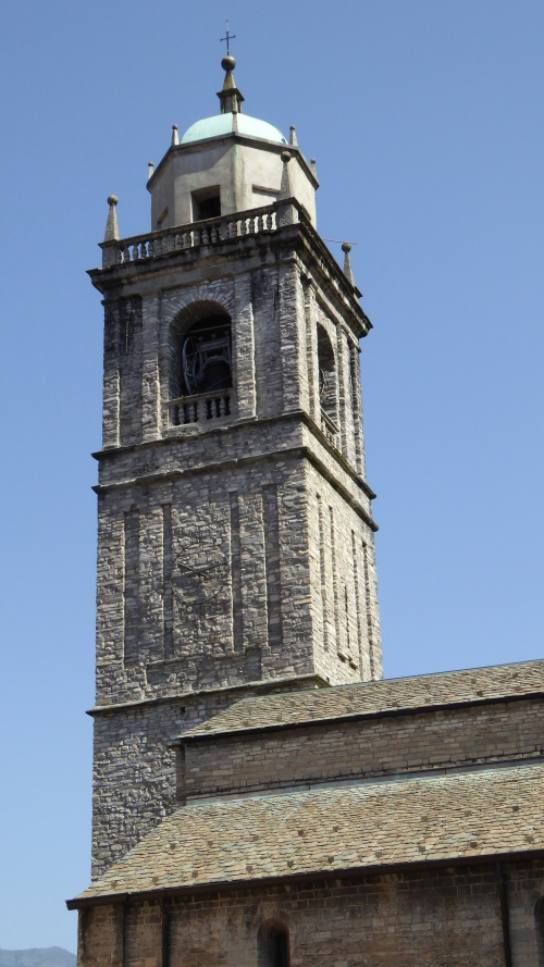 The church tower and bells.