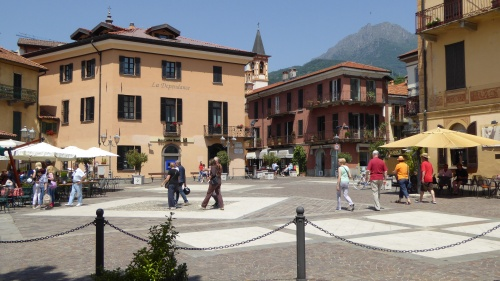 The main square, Menaggio.