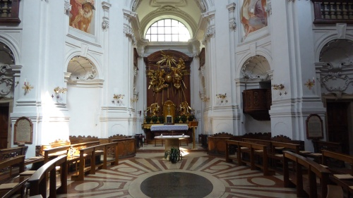 The church of the Holy Trinity, Salzburg.
