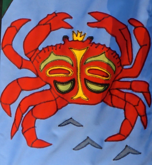 Detail of King Crab ©  DY  of  jtdytravels P1100213 - Version 2