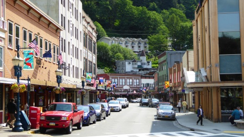 Local shopping street in Juneau ©  P1130408 by JT of jtdytravels