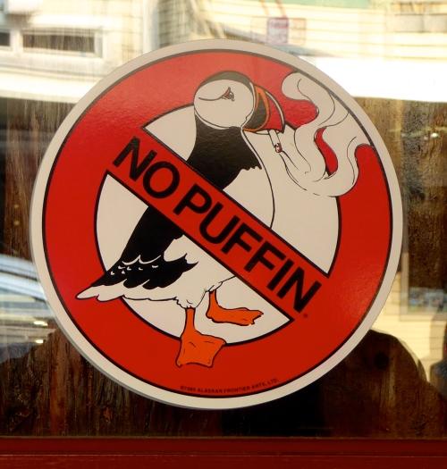 An Alakan no smoking sign ©  JT  of  jtdytravels ; P1130490