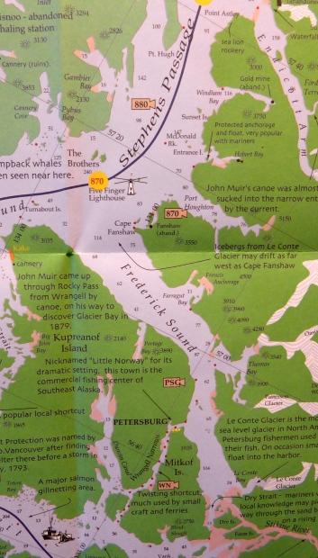 Frederick Sound Alaska Map.Usa Alaska 6 Frederick Sound I See You See