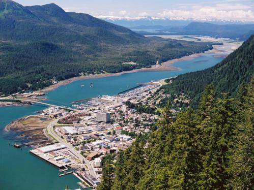 Juneau as seen from Mount Roberts