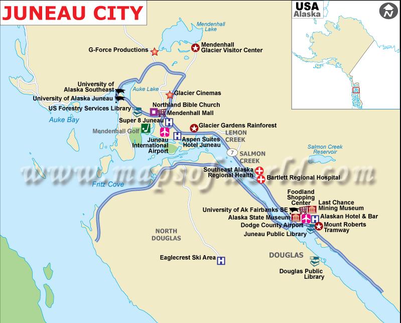USA: Alaska #2 Mendenhall Glacier, Juneau | I See You See