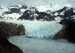 Web photo of LeConte Glacier